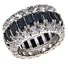 Colleen Lopez Gem and White Topaz Eternity Band Ring