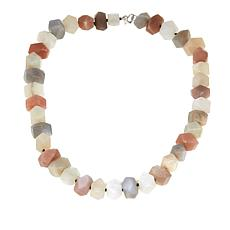 "Colleen Lopez Gemstone Nugget 20-1/4"" Necklace"