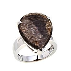 Colleen Lopez Golden Black Sunstone Ring