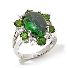 Colleen Lopez Maw Sit Sit and Chrome Diopside Ring