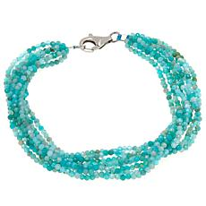 Colleen Lopez Multi-Strand Gemstone Beaded Bracelet