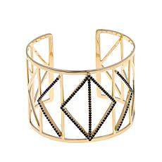 Colleen Lopez Wonder Woman Geometric Gem Cuff Bracelet