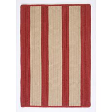 Colonial Mills Boat House 5' x 8' Rug - Rust Red