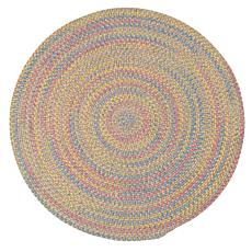 Colonial Mills Botanical Isle 8' Round Rug - Sand