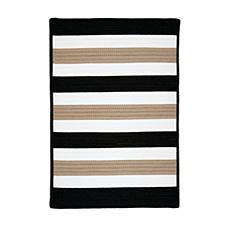 Colonial Mills Portico 2' x 8' Rug - Sharp Black