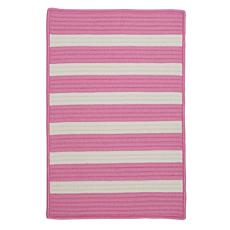 Colonial Mills Stripe It 3' x 5' Rug - Bold Pink