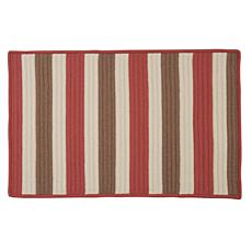 Colonial Mills Stripe It 5' x 8' Rug - Terracotta