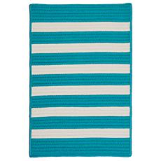 Colonial Mills Stripe It 5' x 8' Rug - Turquoise