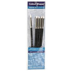 Color Shaper Painting Tool & Pastel Blending Assorted No. 2, 5-pack