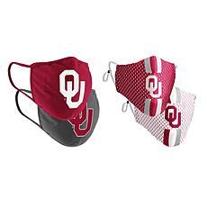 Colosseum Collegiate NCAA Team Logo Face Covering 4-Pk - Oklahoma