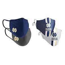 Colosseum Collegiate NCAA Team Logo Face Covering 4-Pk - Notre Dame