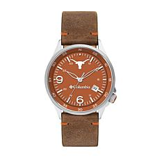 Columbia Men's Canyon Ridge Texas Saddle Leather Strap Watch