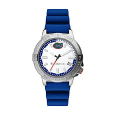 Columbia Men's Peak Patrol Florida Gators Blue Silicone Strap Watch