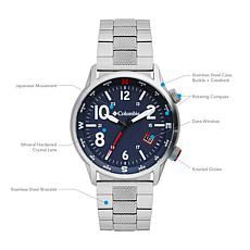 "Columbia ""Outbacker"" Men's Navy Dial Bracelet Watch"
