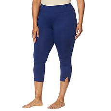 Comfort Code Cropped Legging with Side Slits