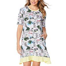 Comfort Code Flutter Sleeve Flutter Sleep Shirt