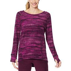 Comfort Code Long-Sleeve Fleece Top