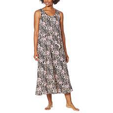 Comfort Code Stretch Jersey Asymmetric Overlay Dress
