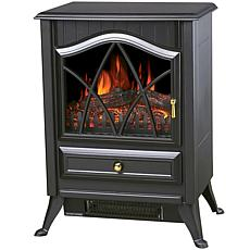 Comfort Glow Ashton Electric Stove, Matte Black