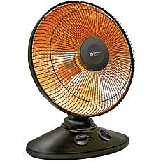Comfort Zone Parabolic Dish Oscillating Radiant Heater