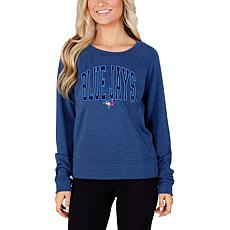 Concepts Sport Mainstream Ladies Knit Long Sleeve Top - Blue Jays