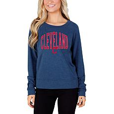 Concepts Sport Mainstream Ladies Knit Long Sleeve Top - Cleveland