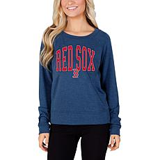 Concepts Sport Mainstream Ladies Knit Long Sleeve Top - Red Sox