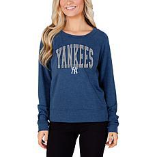Concepts Sport Mainstream Ladies Knit Long Sleeve Top - Yankees