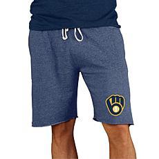 Concepts Sport Mainstream Men's Knit Short - Brewers