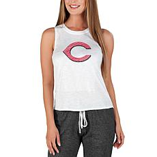 Concepts Sport Officially Licensed MLB Ladies Knit Tank Top Reds