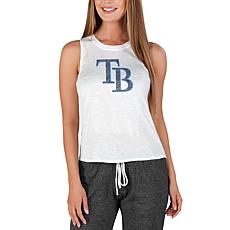 Concepts Sport Officially Licensed MLB Ladies Knit Tank Top Rays