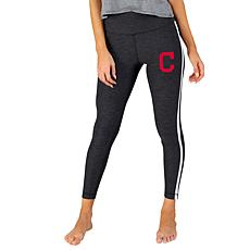 Concepts Sport Officially Licensed MLB Ladies Legging - Cleveland