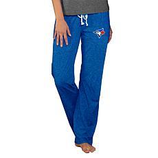 Concepts Sport Quest Ladies Knit Pant - Blue Jays
