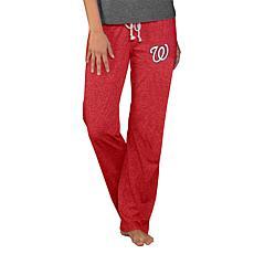 Concepts Sport Quest Ladies Knit Pant - Nationals