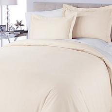 Concierge Collection 100% Cotton 3-piece Duvet Set