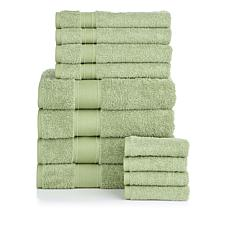 Concierge Collection 100% Turkish Cotton 12-piece Towel Set