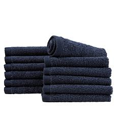 Concierge Collection 100% Turkish Cotton 12-piece Washcloth Set