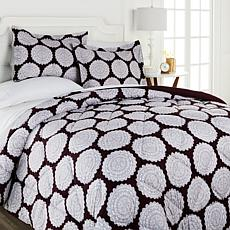 Concierge Collection 3-piece Printed Comforter Set