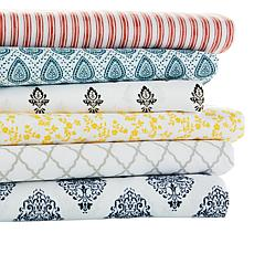 Concierge Collection 4-piece Printed Microfiber Sheet Set