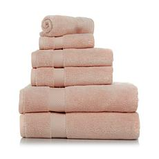 Concierge Collection 6pc 100% Cotton Towel Set