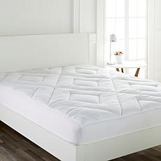 Concierge Collection Double Diamond Mattress Pad