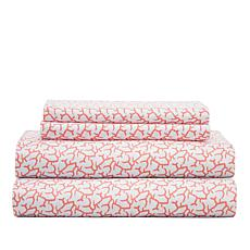 Concierge Collection Elements Summertime Sheet Set - California King