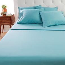 Concierge Collection Microfiber Sheets with Extra Pillowcases - Full