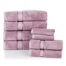 Concierge Collection Pearl-Infused 8-piece Towel Set