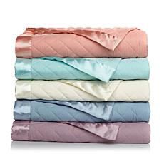 Concierge Lightweight Down Alt Blanket w/Satin Trim-F/Q