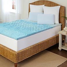Foam Gel Mattress Toppers Hsn