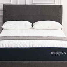 Concierge Rx Silver Infused Hybrid Mattress with 2 Pillows - King