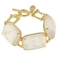 Connie Craig Carroll Jewelry Kendal Rock Crystal Quartz Bracelet