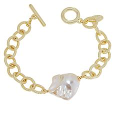 Connie Craig Carroll Jewelry Lauren Cultured Pearl Toggle Bracelet
