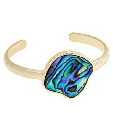 Connie Craig Carroll Jewelry Morgan Abalone Bangle Cuff